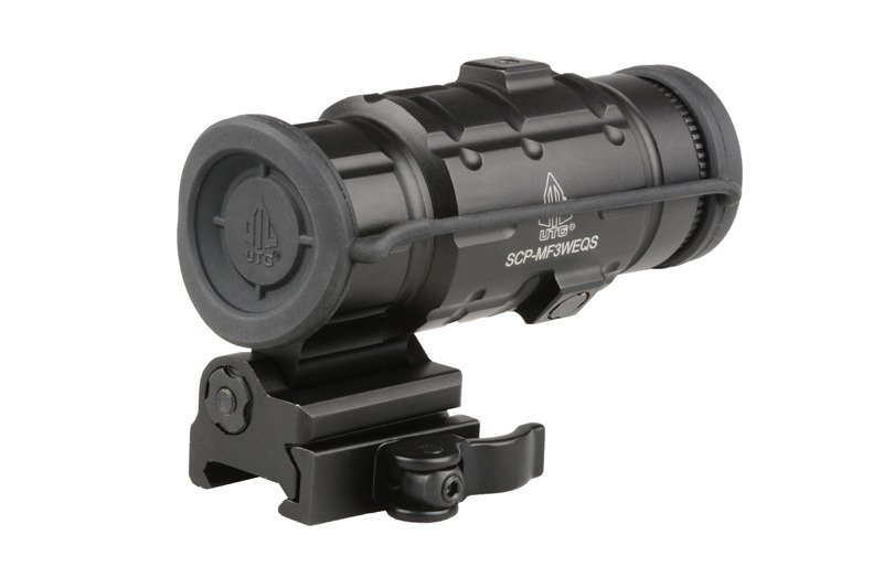 Magnifier 3X with QD Mount Tilted to the Right